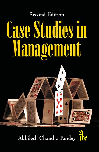 9789384588045: Case Studies in Management, Second Edition