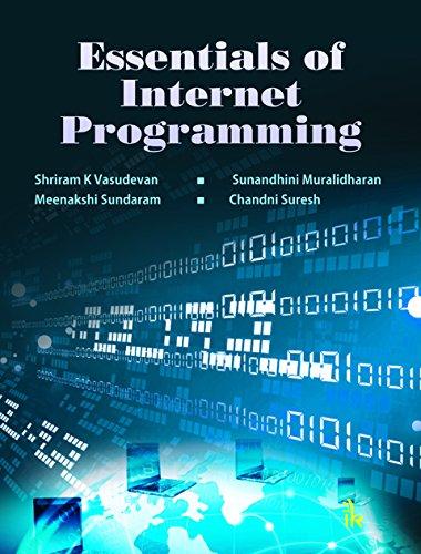 Essentials Of Internet Programming: Vasudevan Shriram K