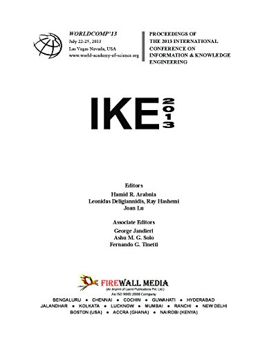 Conference on Information and Knowledge Engineering (IKE_2013): Hamid R.Arabnia, Leonidas