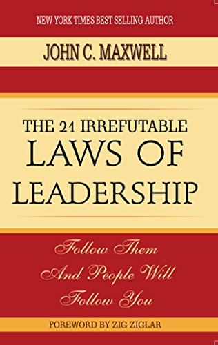 9789385077999: The 21 Irrefutable Laws Of Leadership