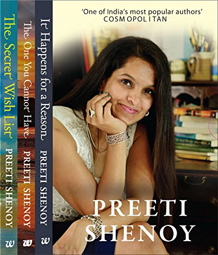 9789385152092: Preeti Shenoy Box Set - It Happens for a Reason/The One You Cannot Have/The Secret Wish List