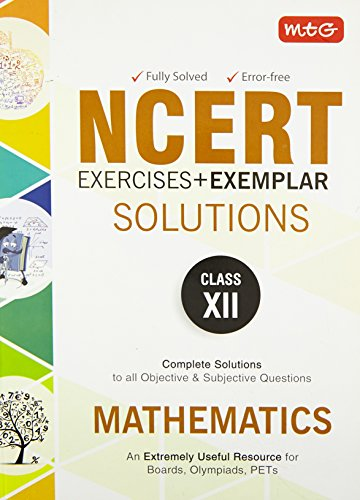 9789385244742: NCERT Exercises + Exemplar Solutions Mathematics - Class 12