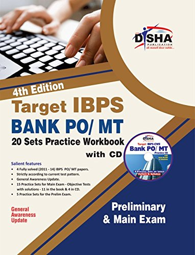 9789385576621: Target IBPS Bank Preliminary & Main PO/MT Exam 20 Sets Practice Workbook with SYNC-ABLE CD