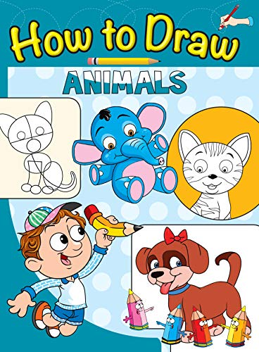 9789385609459: HOW TO DRAW: ANIMALS N.A. [Paperback] [Jan 01, 2017] NA
