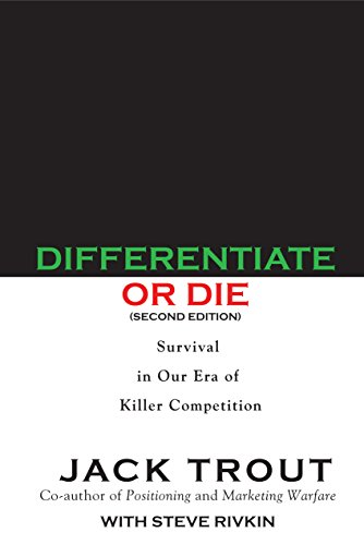 9789385724244: Differentiate or Die - Survival in our era of killer competition.