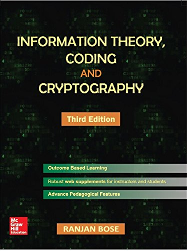 9789385880568: Information Theory Coding And Cryptography 3Rd Edn