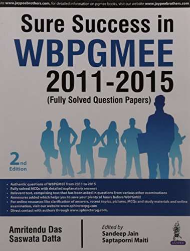 SURE SUCCESS IN WBPGMEE 2011-2015 (FULLY SOLVED: DAS AMRITENDU