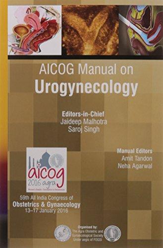 9789385891397: AICOG Manual on Urogynecology