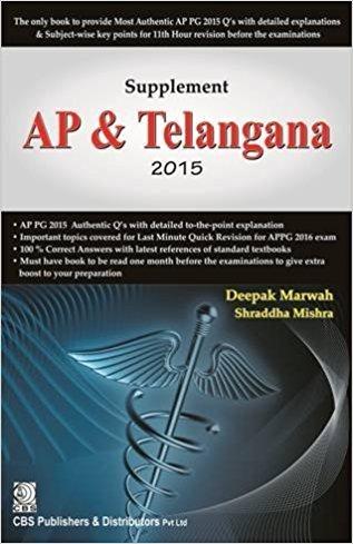 Supplement Ap & Telangana 2015 (Pb 2016): Marwah D.