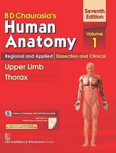 B.D.Chaurasia's Human Anatomy : Regional and Applied: Chief Editor -
