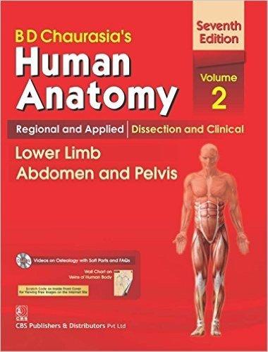 B.D.Chaurasia's Human Anatomy : Regional & Applied: Chief Editor -