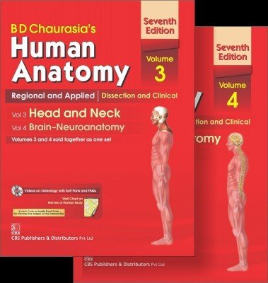 B.D.Chaurasia's Human Anatomy : Regional and Applied: Mittal P S