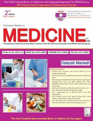 9789385915574: Complete Review of Medicine With DVD
