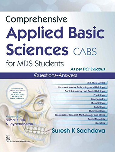 Comprehensive Applied Basic Sciences Cabs For Mds: Sachdeva S.K