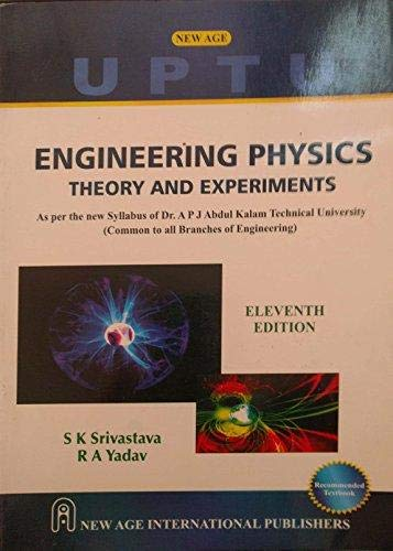 Engineering Physics : Theory And Experiments, Eleventh: Srivastava, S.K.
