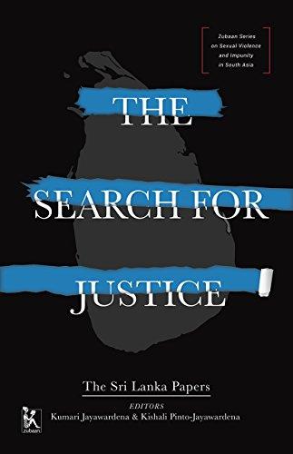 Search for Justice - The Sri Lanka: Kumari Jayawardena, Kishali