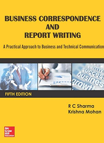 9789385965050: Business Correspondence And Report Writing, 5 Edition