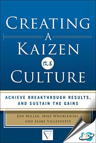 9789385965487: Creating A Kaizen Culture : Align The Organization, Achieve Breakthrough Results, And Sustain The Gains
