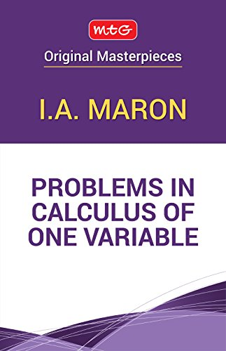 9789385966583: Problems in Calculus of One Variable