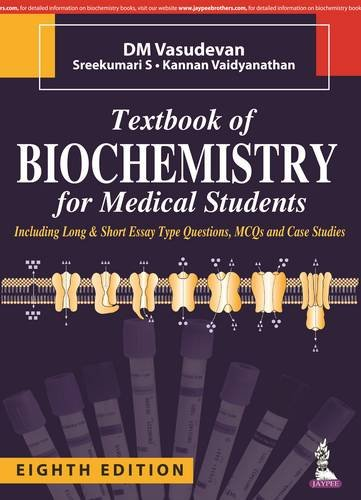 Textbook of Biochemistry for Medical Students (: D. M., M.D.