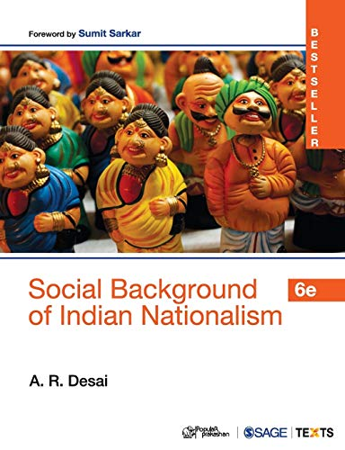 9789386042255: Social Background of Indian Nationalism
