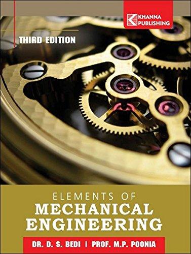 Elements Of Mechanical Engineering: D S Bedi,