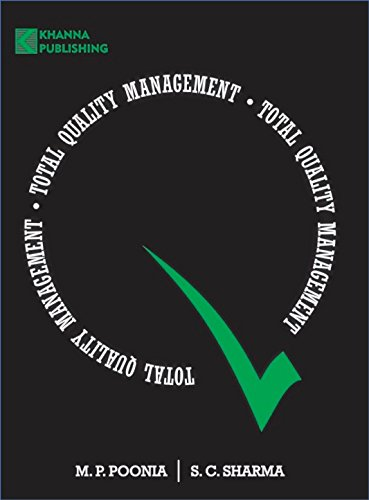 Total Quality Management: M. P. Poonia