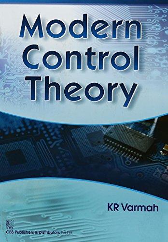 Modern Control Theory (Pb 2017): Varmah K R