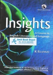 Insights (Punjab Uty Edn - Reissue): Elango K