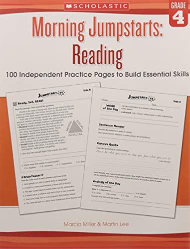 9789386313416: Morning Jumpstarts: Reading Grade 4