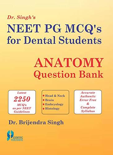 Dr. Singh's Neet PG MCQ's for Dental: Brijendra Singh