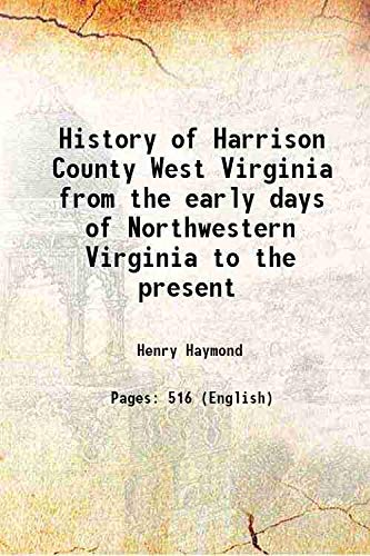 History of Harrison County West Virginia from