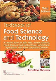 Textbook of Food Science and Technology: A: Sharma, Avantina