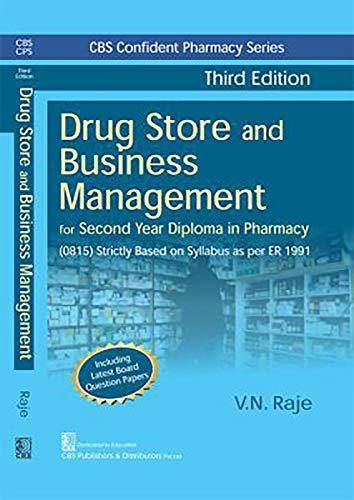 Drug Store and Business Management (Paperback): V.N. Raje