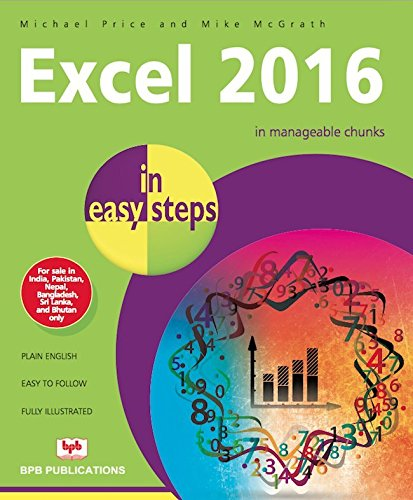 9789386551368: Excel 2016 In Easy Steps