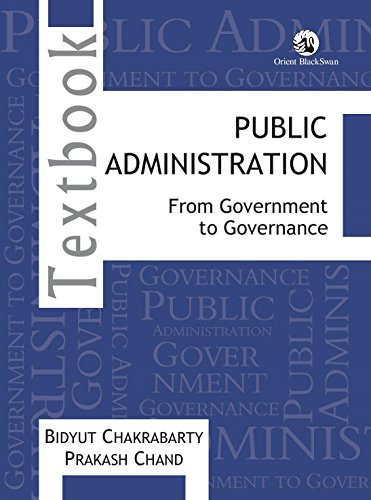 Public Administration: From Government to Governance: Bidyut Chakrabarty and