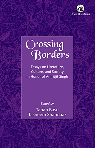 Crossing Borders : Essays on Literature, Culture,: Tapan Basu and