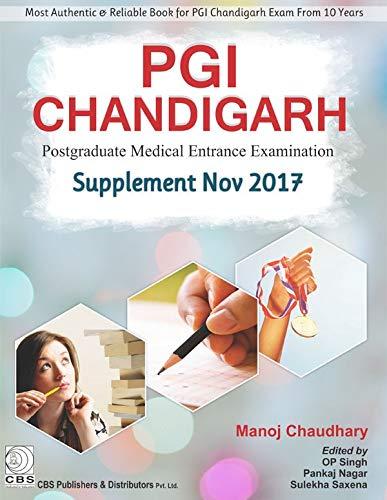 Pgi Chandigarh Supplement Nov 2017 Postgraduate Medical: Chaudhary M