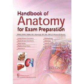 Handbook Of Anatomy For Exam Preparation (Pb: Ghosh B D