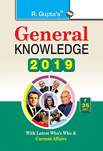 General Knowledge 2019: Latest Who's Who &: RPH Editorial Board