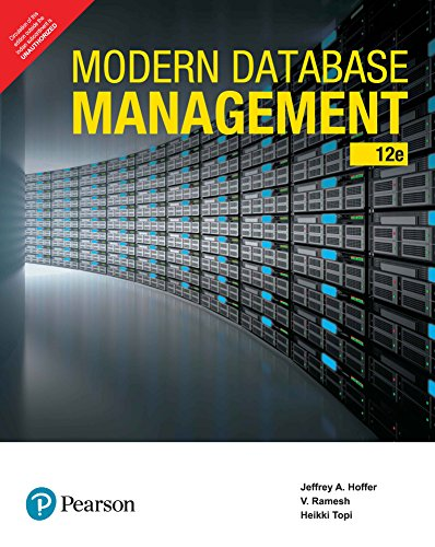 9789386873262: Modern Database Management by Pearson