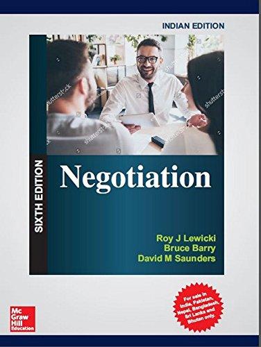 9789387432314: Negotiation, 6Th Edition