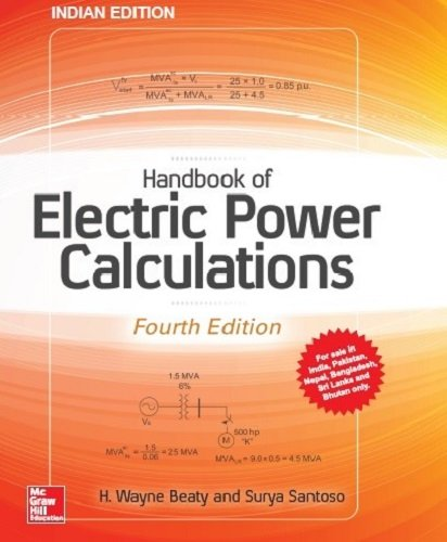 9789387572959: Handbook Of Electric Power Calculations, 4Th Edition
