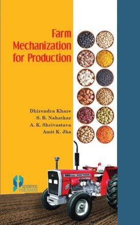 Farm Mechanization For Production: Dhirendra Khare