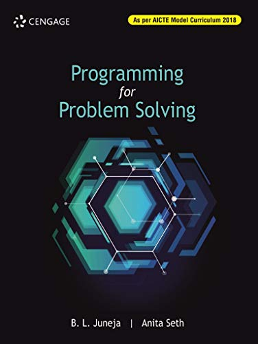 Programming For Problem Solving: B.L Juneja  