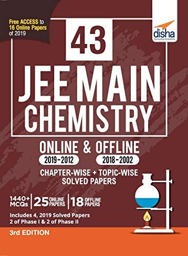 43 JEE Main Chemistry Online (2019-2012) &
