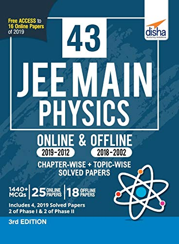 43 JEE Main Physics Online (2019-2012) &