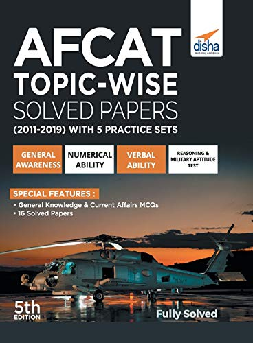 AFCAT Topic-wise Solved Papers (2011 - 19)