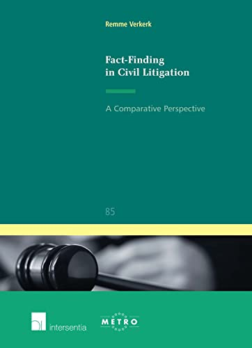 9789400000742: Fact-Finding in Civil Litigation: A Comparative Perspective (Ius Commune Europaeum)