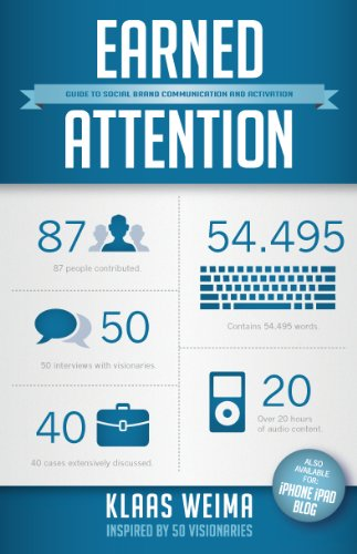 Earned attention / druk 1: guide to social brand communication and activation